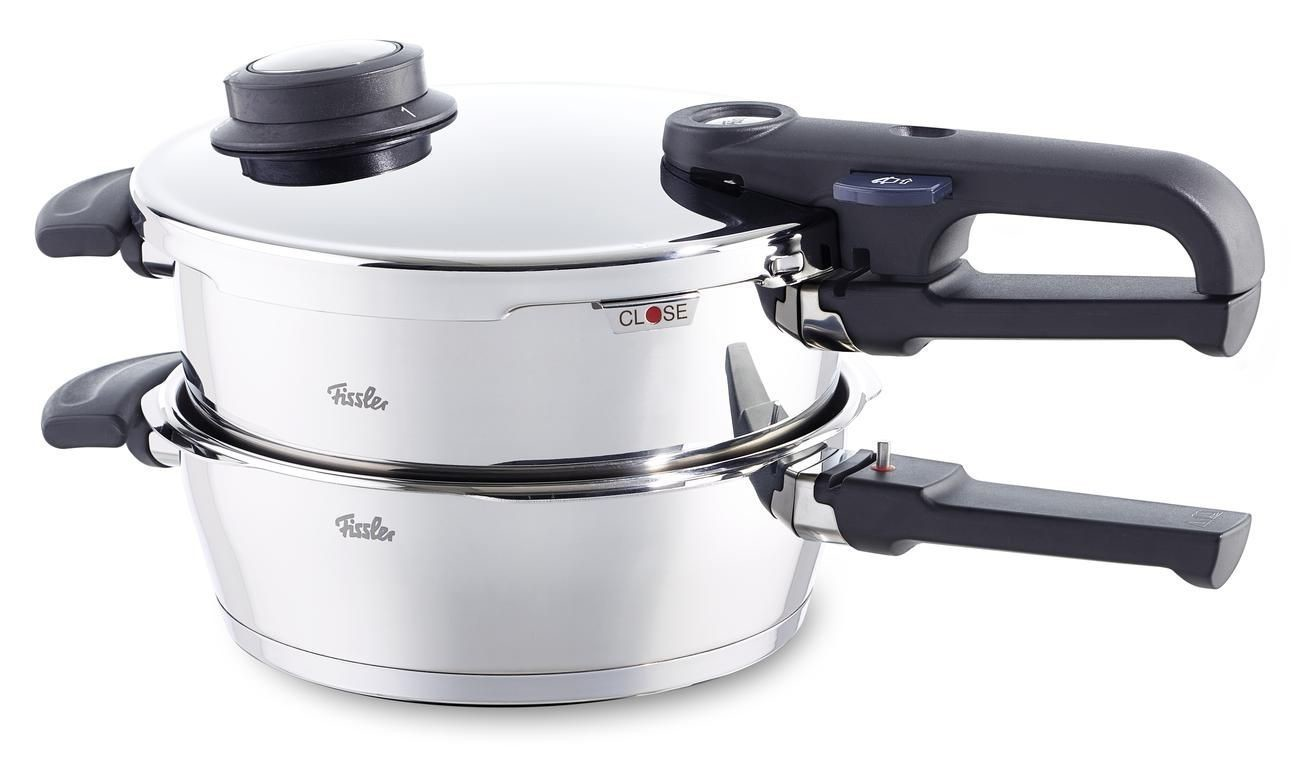 fissler vitavit premium schnellkochtopf set 4 5 l 2 5 l preisvergleich. Black Bedroom Furniture Sets. Home Design Ideas