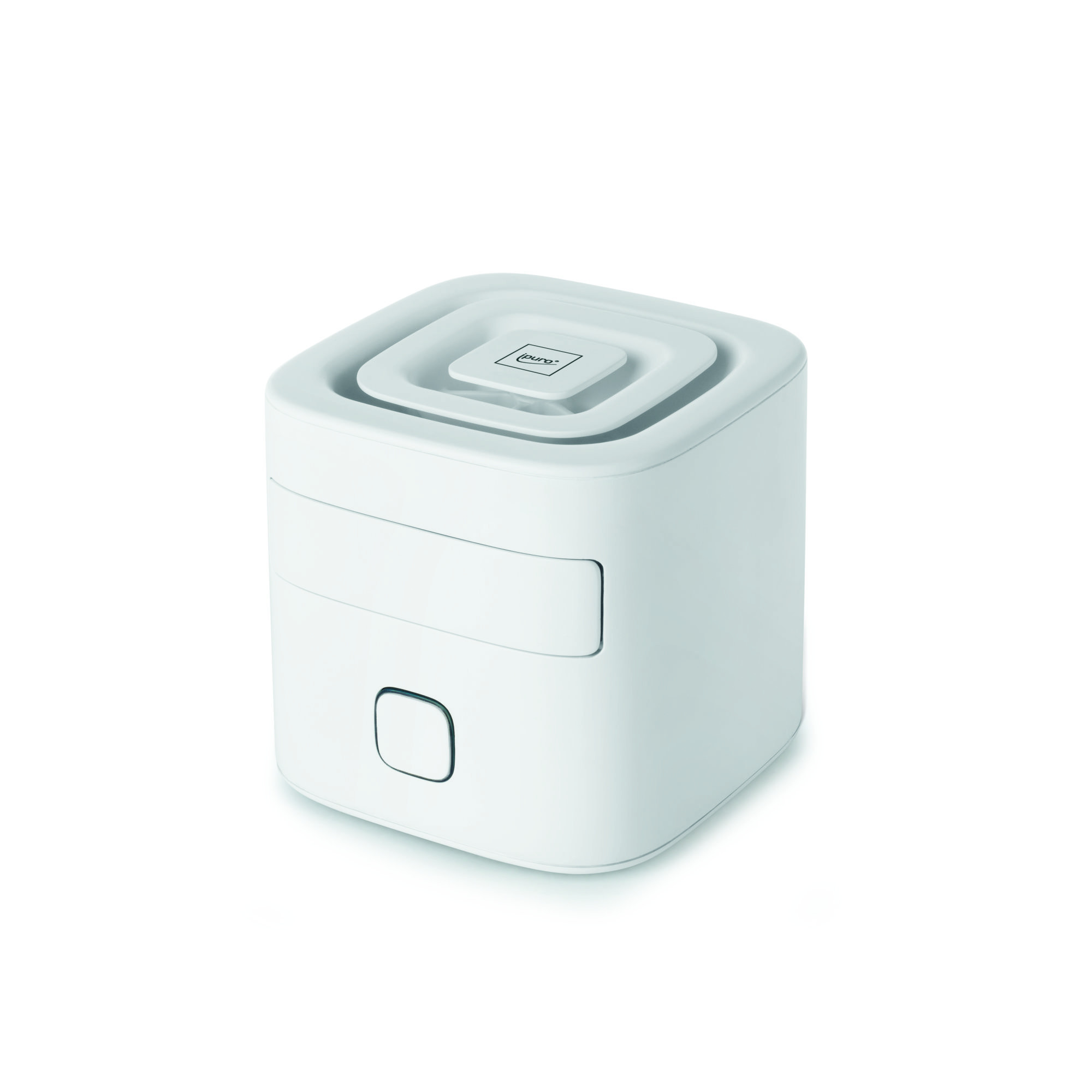 ipuro air pearls elektischer Raumduft CUBE white