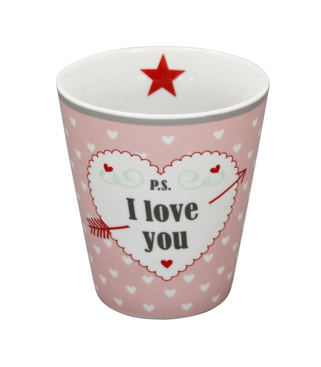 Krasilnikoff Happy Tasse P.S. I Love You KRAS-HM70