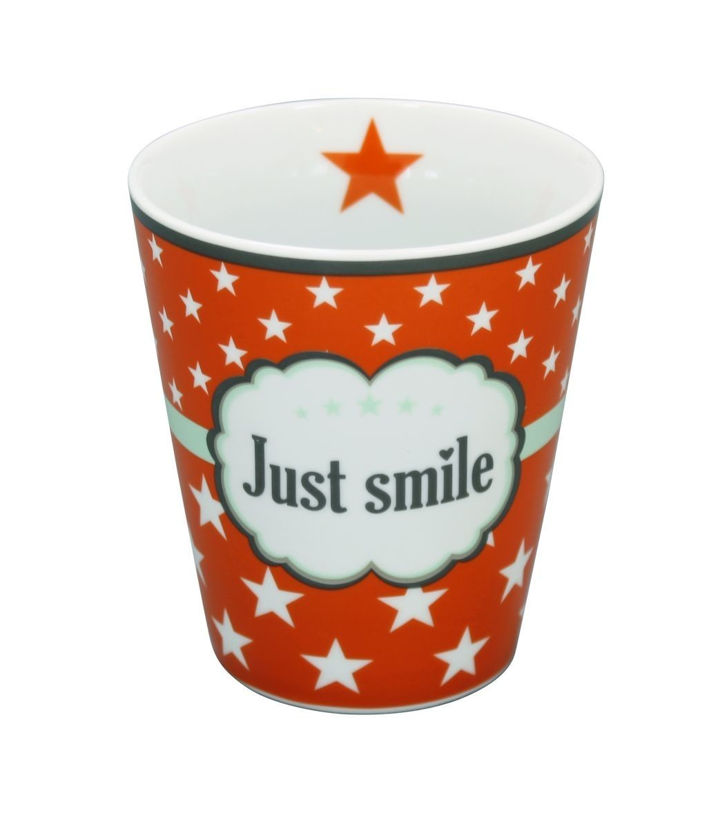 Krasilnikoff Happy Tasse Just Smile KRAS-HM67