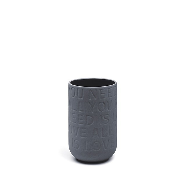 Kähler Love Song Vase - All you need is love