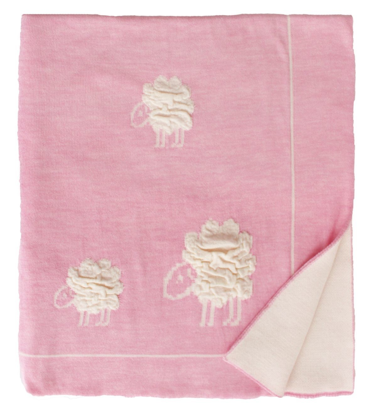Eagle Products Wolly Babyplaid aus Schurwolle EAG-15285-2