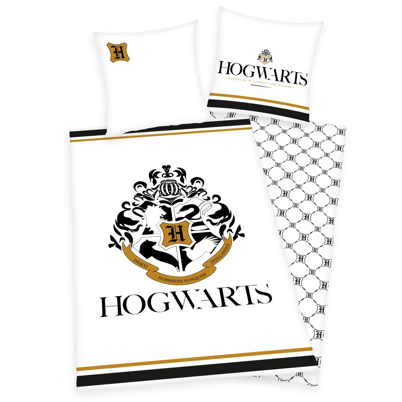 Harry Potter-Hogwarts Bettwäsche-Set