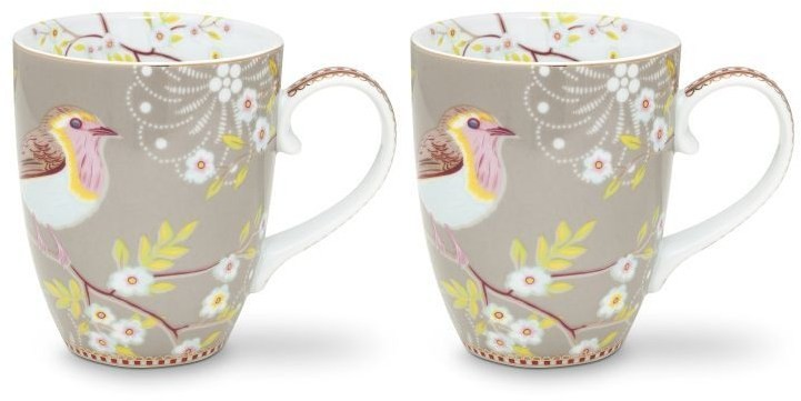 Pip Studio Early Bird großer Becher 2er-Set 51-002-224