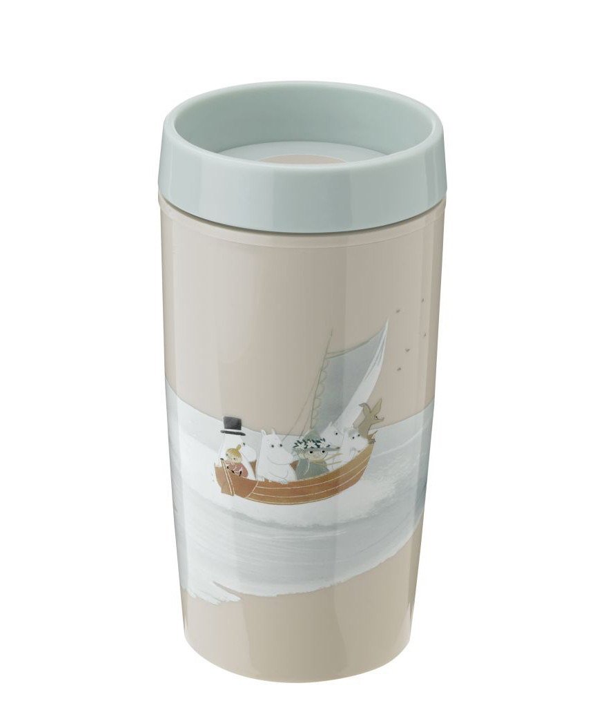 RIG-TIG by stelton BRING-IT Moomin To-Go Becher Z00700