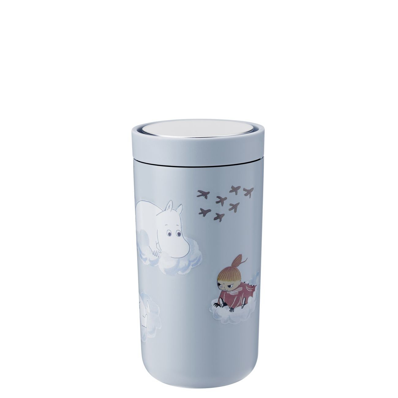 stelton Moomin To Go Click Thermobecher doppelwandig 1370